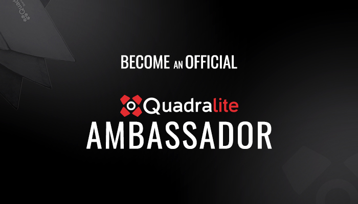 Become an Official Quadralite Ambassador!