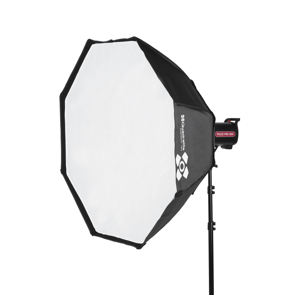 A quantuum softbox octa deep95 side