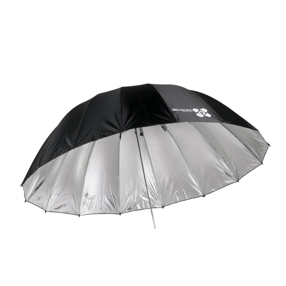 Quantuum Space silver parabolic umbrella-10a